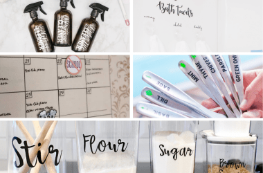 cricut projects to use what you already have