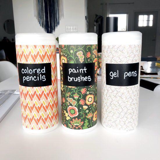 Clorox wipe storage container DIY