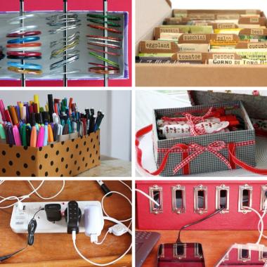 shoebox organizing ideas from bloggers