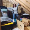 how to declutter and organize an attic with Lela Burris