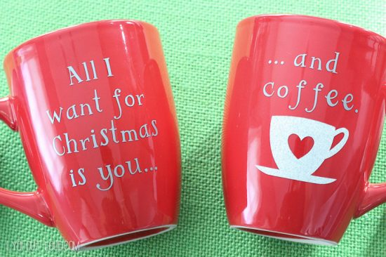 christmas coffee mugs from lydi out loud