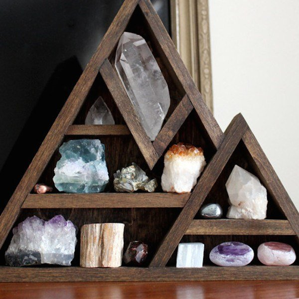 crystal storage idea from In My Sacred Space