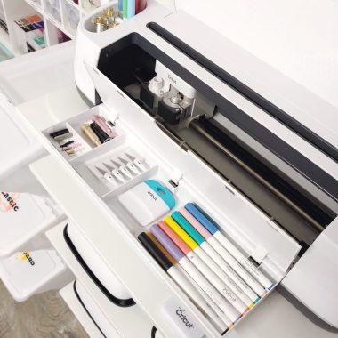 cricut maker storage ideas