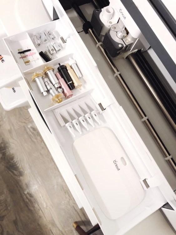 cricut maker tool storage