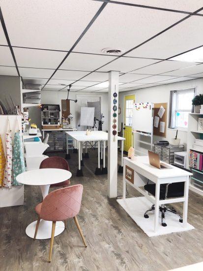 Organized-ish Headquarters Lela Burris Studio