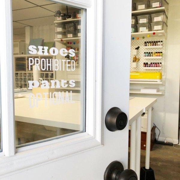 Lela Burris craft room Organized-ish blog studio