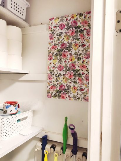 vinyl covered pegboard