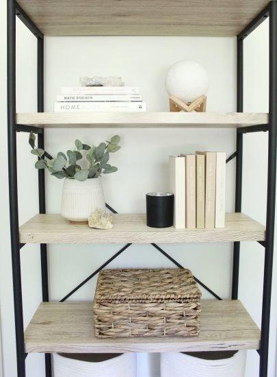 cricut foil book covers on shelf