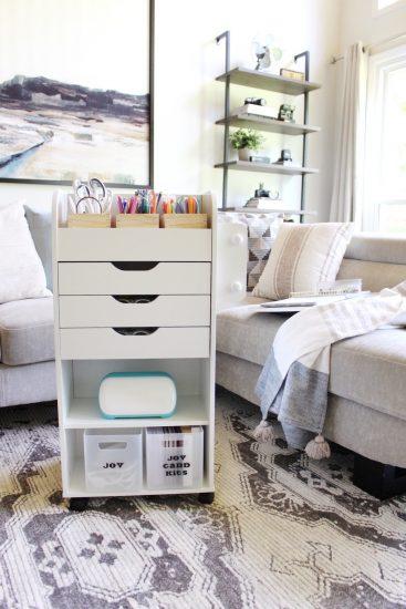 Cricut Joy storage cart idea
