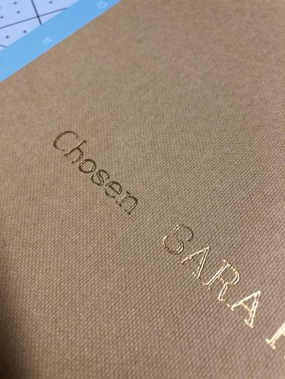 designing custom book covers with cricut