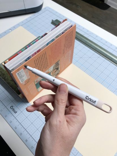 how to make dust covers for books with cricut
