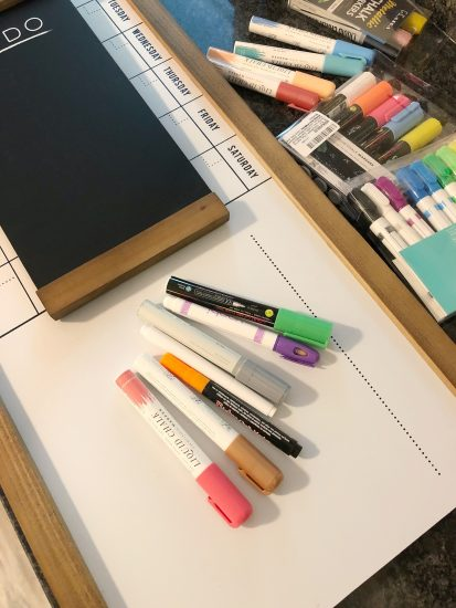 chalk markers for 1thrive