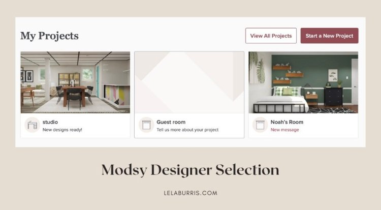 modsy review of designers