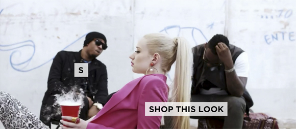 ssense shoppable music video