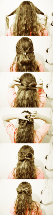 hair bow tutorial merry christmas