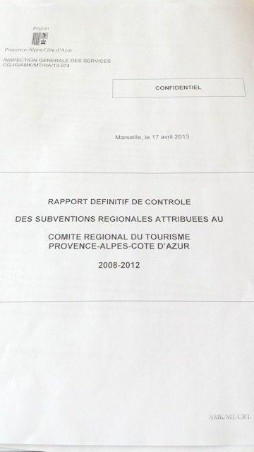 Rapport IGS CRT Paca 2008-2012