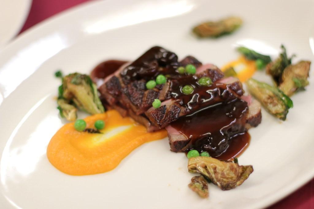 Smoked Duck Breast | Chef Nelson Millán | Palmaz Vineyards Wine Dinner | Leland Lodge Wine Cellar