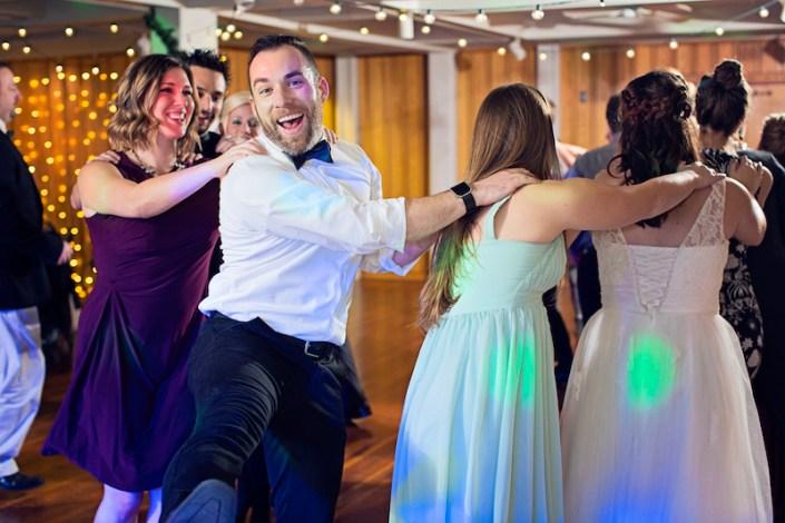 Leland Lodge | Fishtown Leland Hotel | Winter Wedding | Dancing