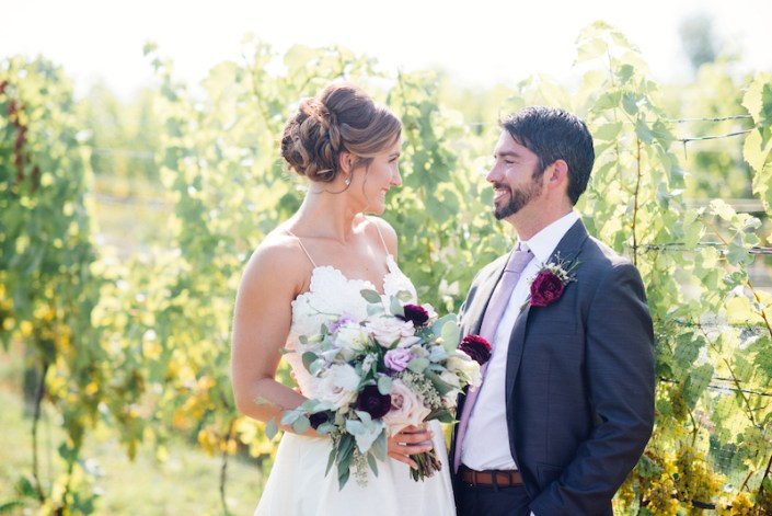 LL | Fishtown Leland Hotel | Fall Wedding | Bride & Groom