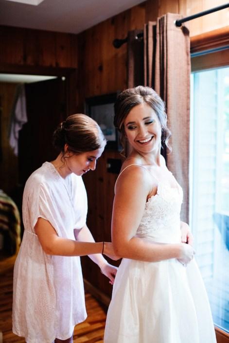 LL   Fishtown Leland Hotel   Fall Wedding   Bride   Bridesmaid