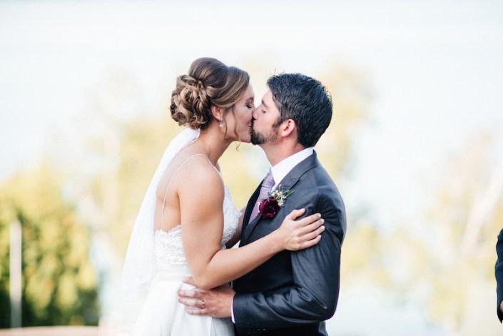 LL   Fishtown Leland Hotel   Fall Wedding   Bride & Groom