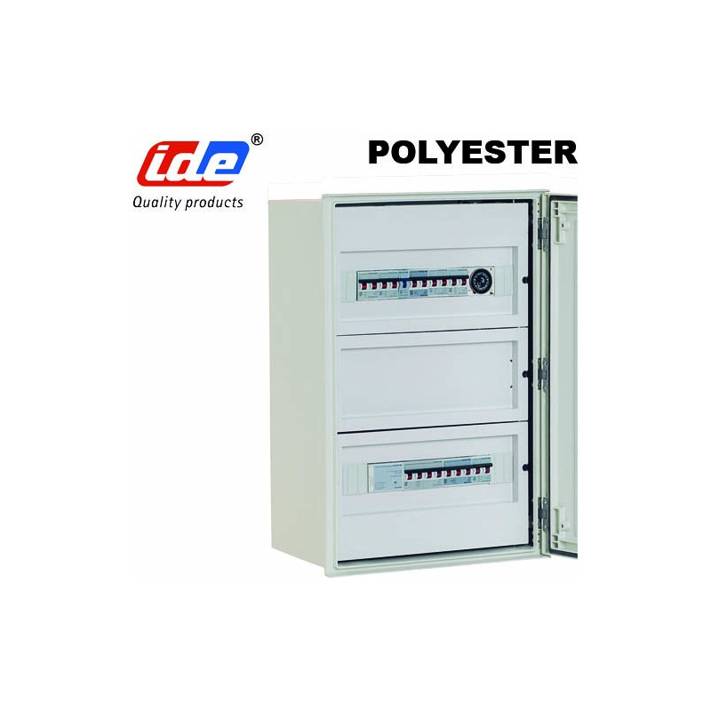 Chassis Modulaire Pour Coffret Polyester IDE