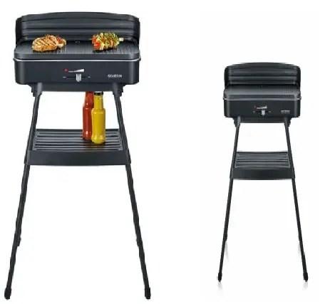 Barbecue électrique sur pieds marque SEVERIN PG 8533