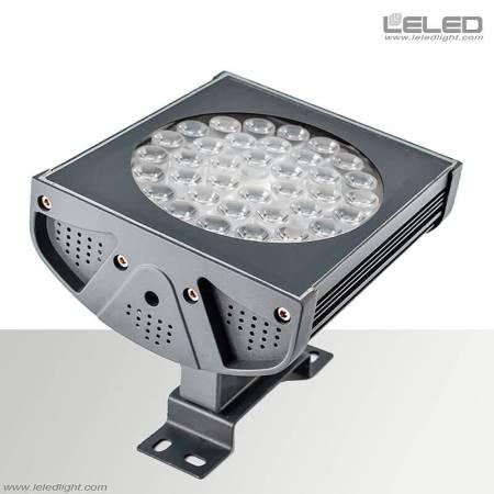 أدت الأضواء الكاشفة في الهواء الطلق في الأماكن الخارجية 36w 110v 220v أو 24v