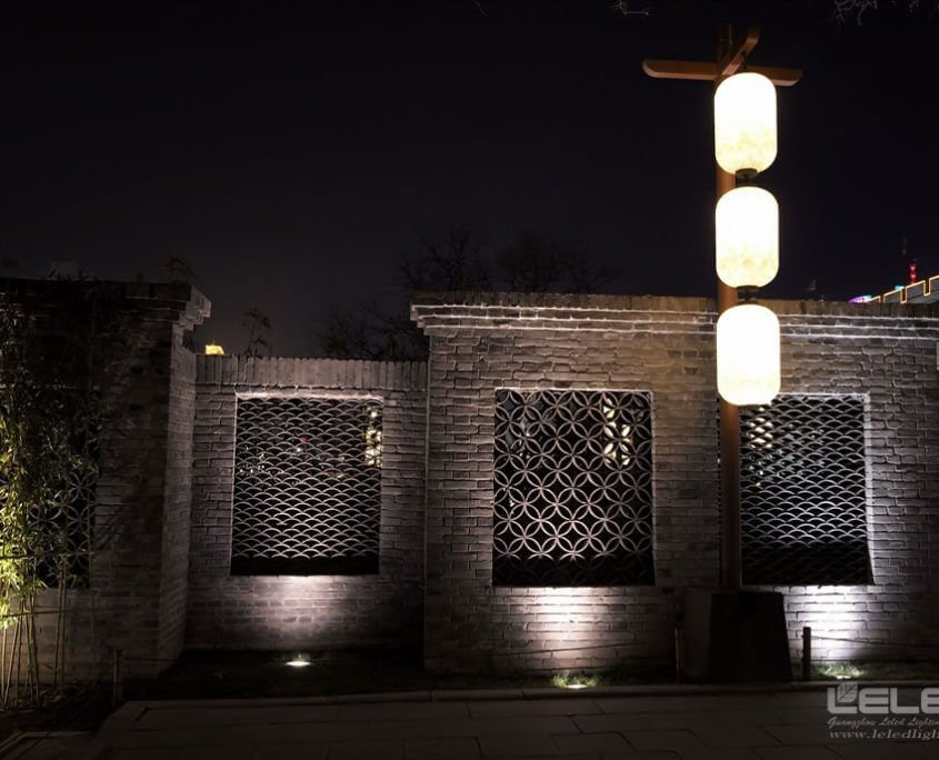 led ground lights outdoor spotlights design idea