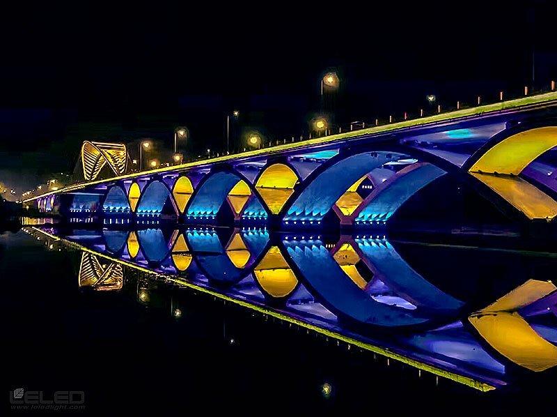 الإضاءة فكرة تصميم جسر ضوئي للأضواء LED عالية الطاقة ضوئي