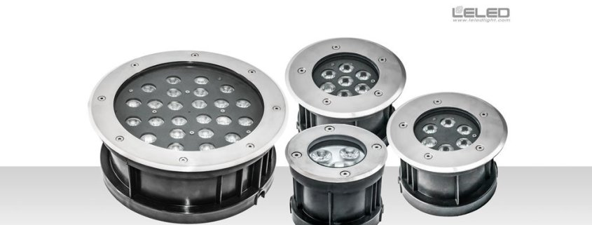 LED round inground lights & underground flood lights in China