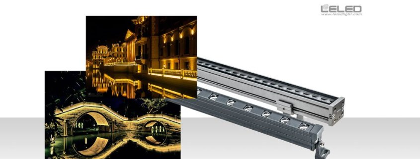 SMD LED Linear wall washer Lights Outdoor Outline Rigid Lamp in China