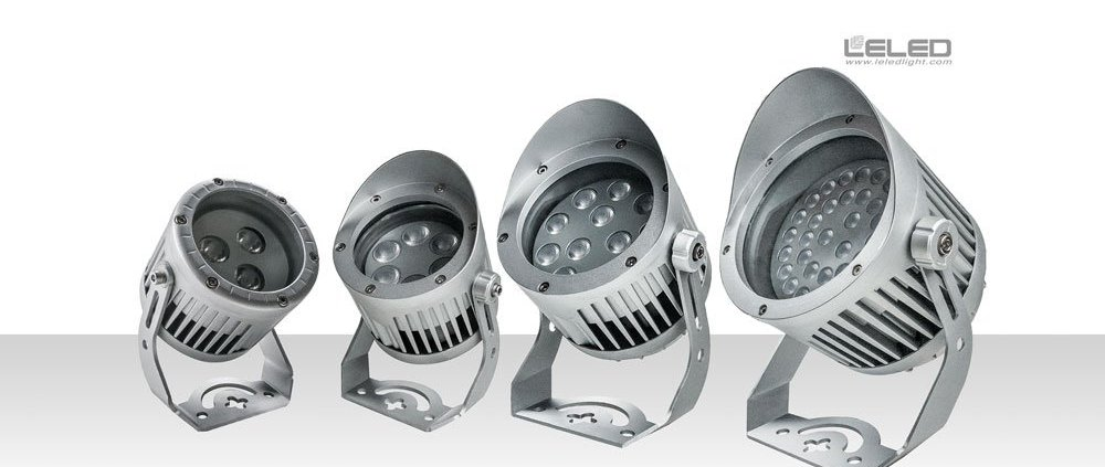 Compact outdoor led projector lights& architecture spot lights in China