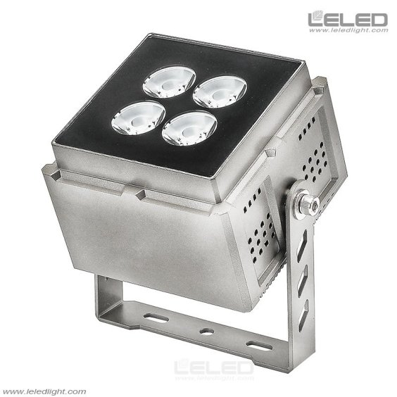 narrow beam outdoor led flood lights 3 degree for architectural facade
