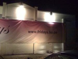 Fridays Bochum - eine URL die nie gehen wird