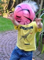 Alex mit dem Ball