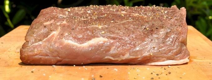 argentinisches Roastbeef, vorher