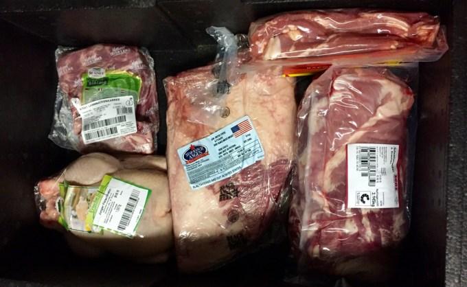 Fleischeinkauf in der Metro