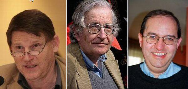 Le cas Collon/Bricmont/Chomsky