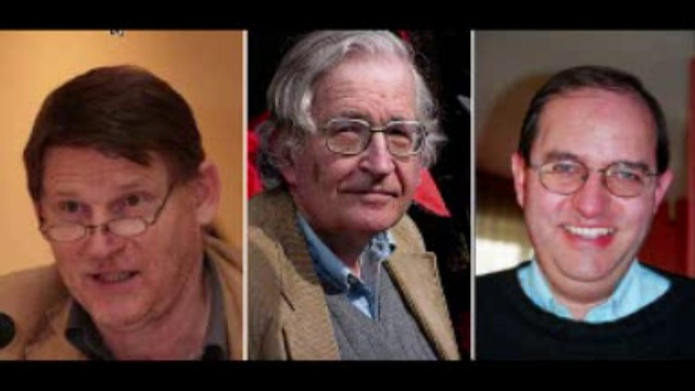 Le cas Collon/Bricmont/Chomsky