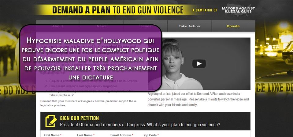 «Demand a Plan» : Hollywood l'hypocrite !