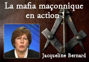 Affaire J. Bernard :  la mafia maçonnique en action !