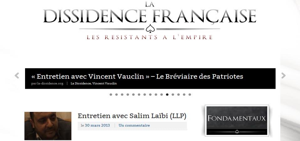 ITW de La Dissidence Française – WAC Paris