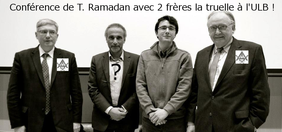 Tariq Ramadan entouré de francs-maçons !