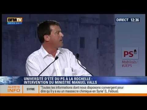 Le nain écarlate Valls s'attaque à la dissidence
