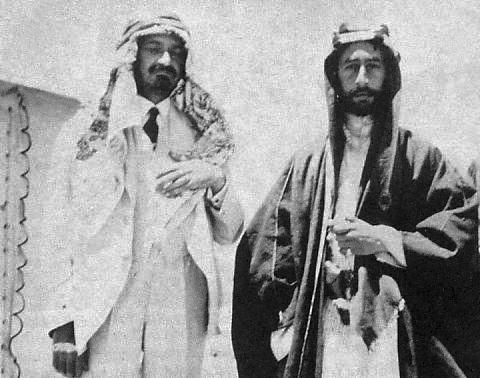 Weizmann et Fayçal en 1918 !