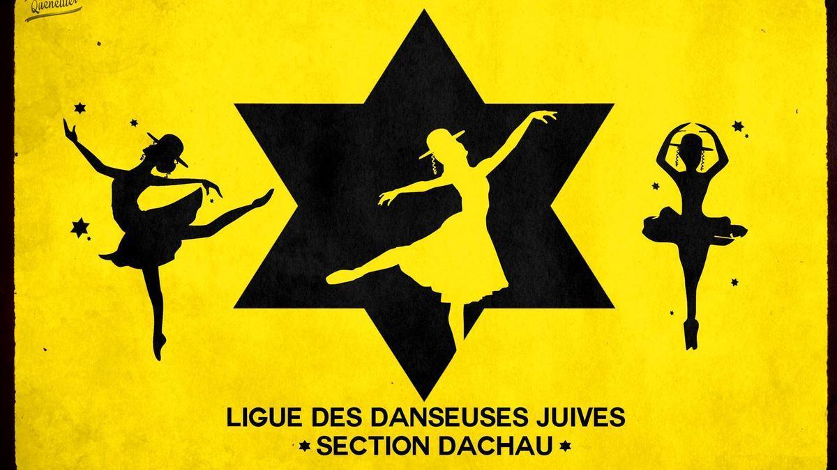 Les danseuses de la LDJ et la racaille politique française