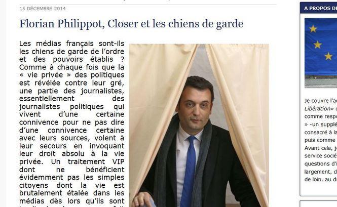 Florian Philippot veut changer le nom du parti
