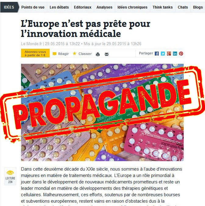 Big Pharma : l'innovation comme remède miracle