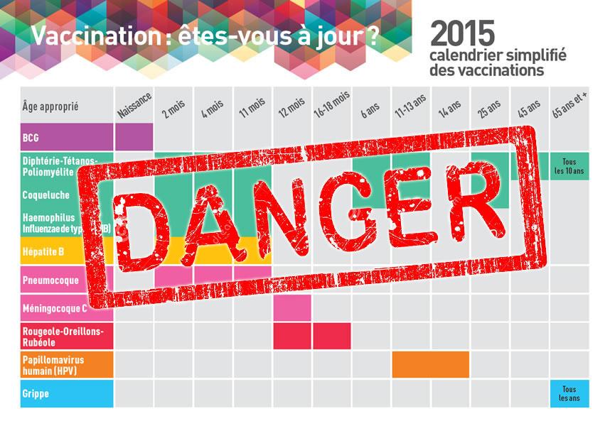 Des convulsions constatées après l'administration simultanée des vaccins Infanrix et Prévenar